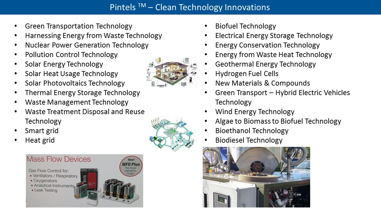 Clean Technology Innovations